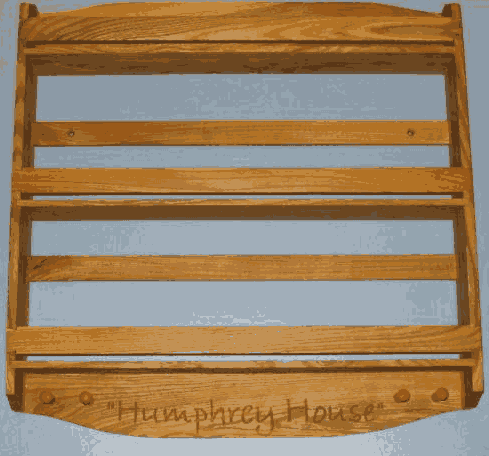 3 tier personalized Ash wood spice rack design.