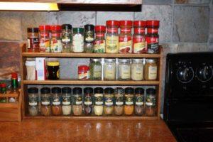 Order 3 Teir Counter Top Spice Racks Online; davesspiceracks.com
