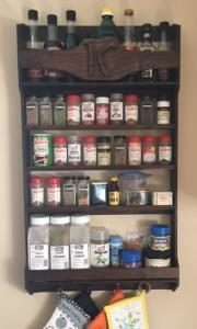 Have Dave build your custom made spice rack for the home.